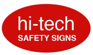 hi-tech safety signs logo