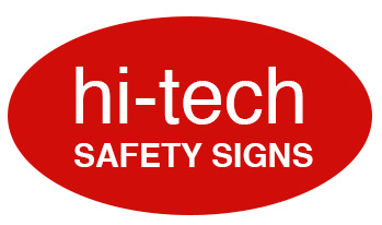 hi-tech safety signs logo