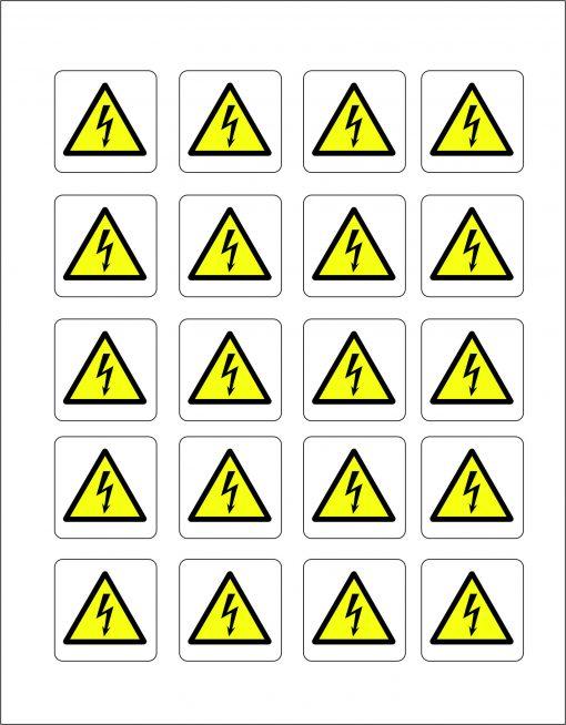 Danger Flash Labels