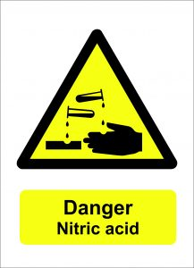 danger nitric acid