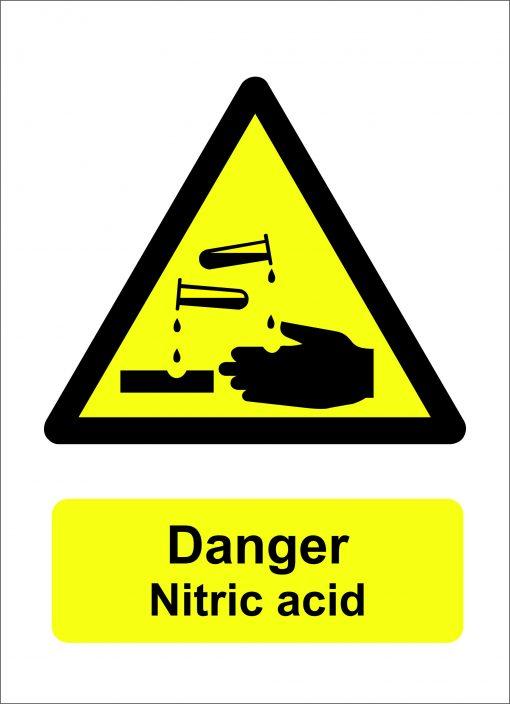 danger nitric acid