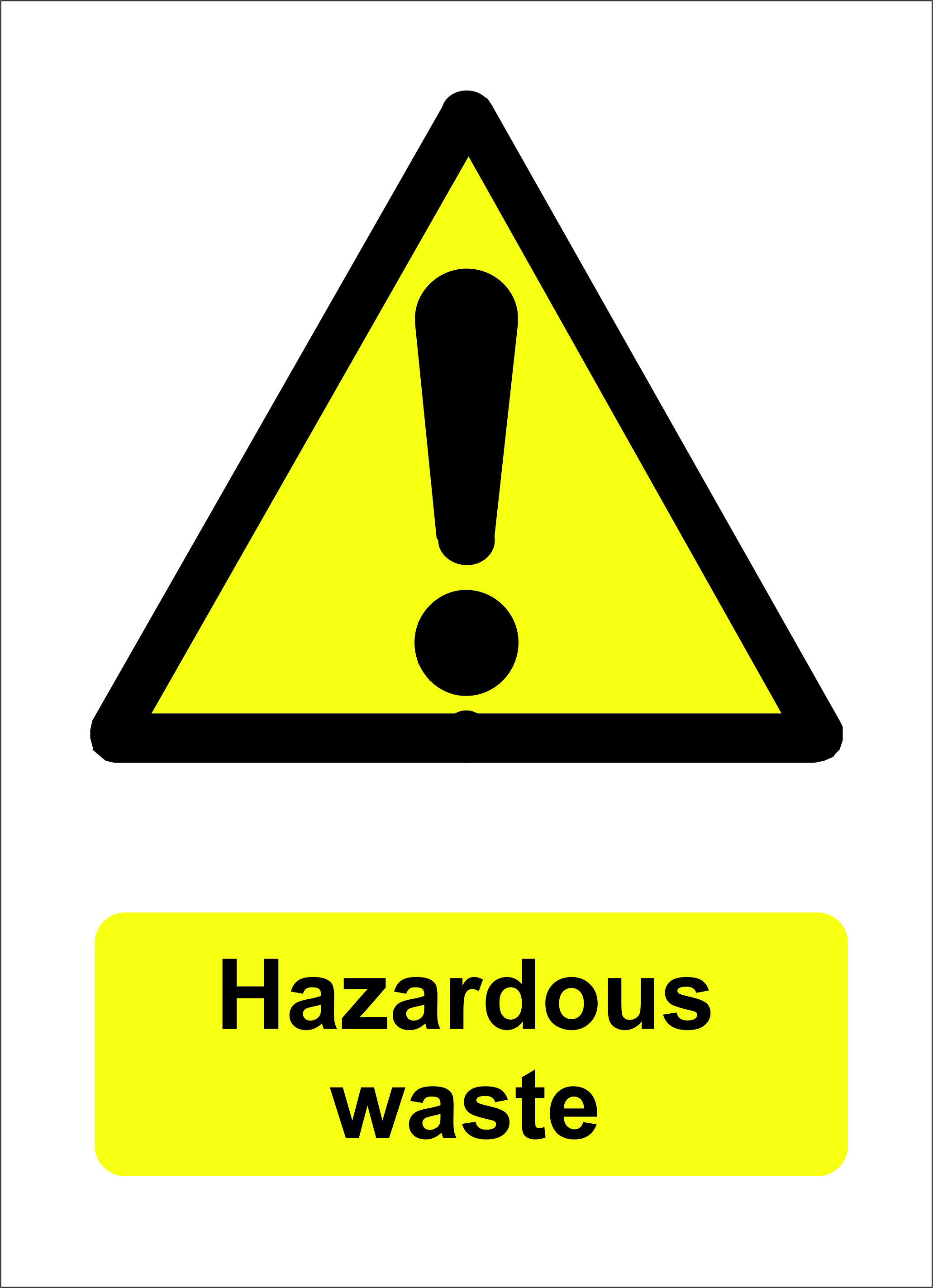toxic waste sign - HD2062×2846