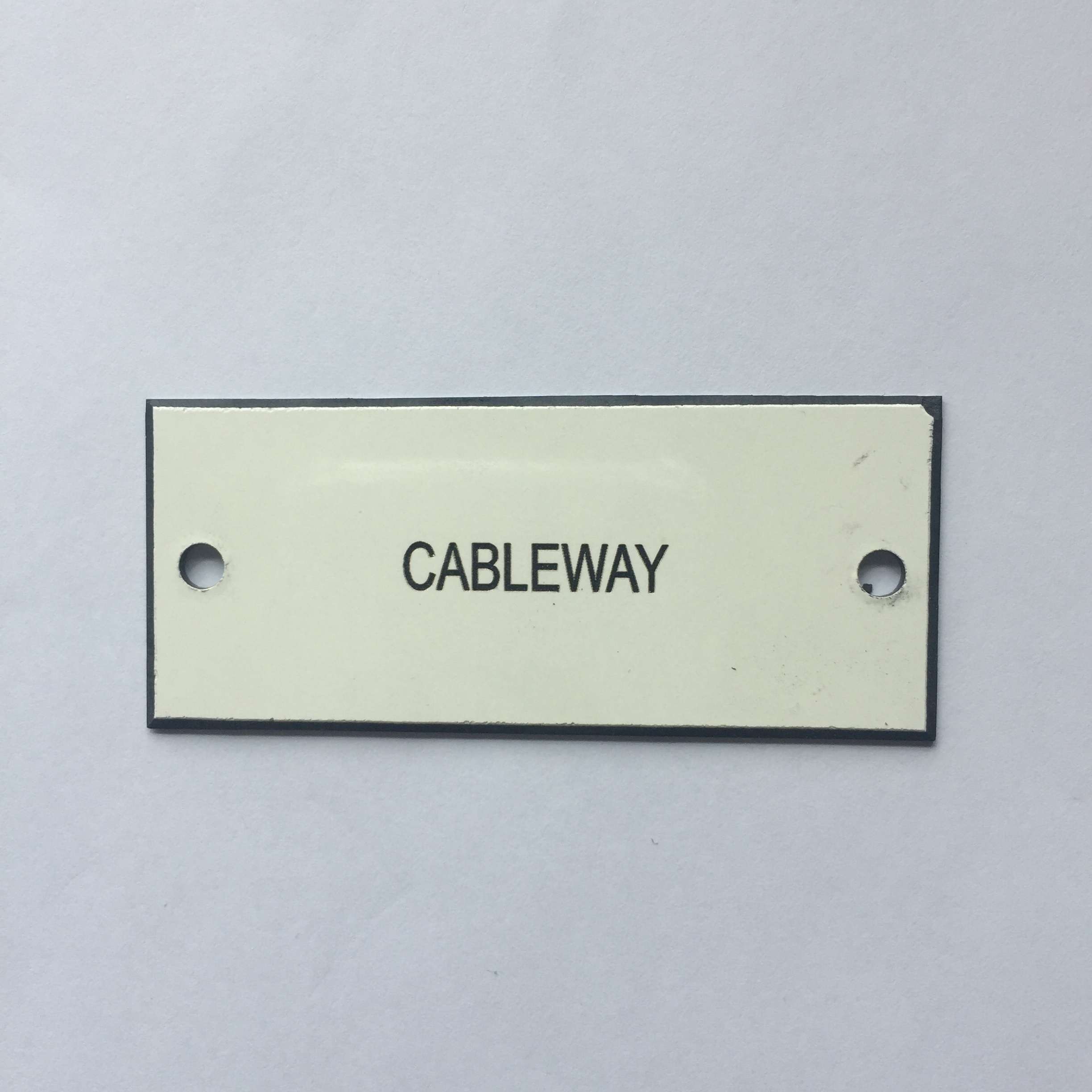 Cableway Label