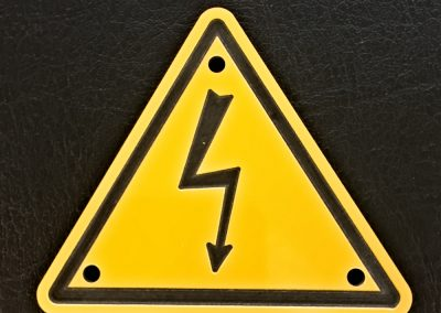 Flash Warning Sign