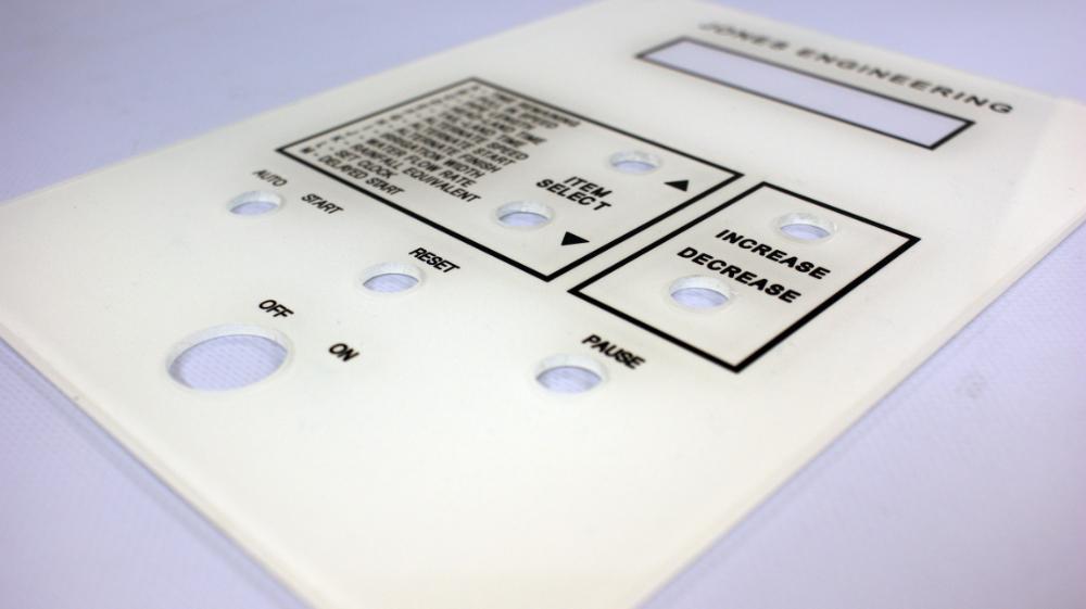 Reversed Engraved Plate