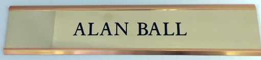 Engraved Nameplate