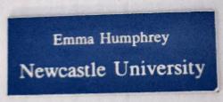 University Name Badge