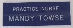 Practice Nurse Badge